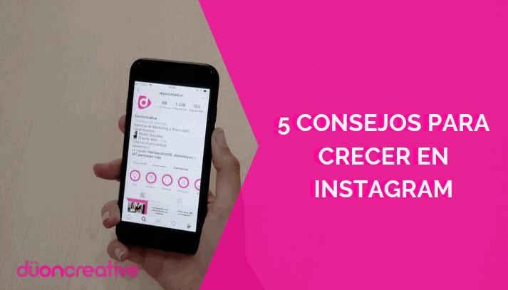 Consejos crecer en Instagram