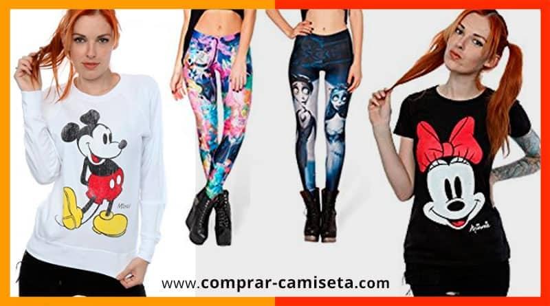 Camisetas Mujer Sudaderas Pijamas Ropa Disney Tops Para z4FzwOPq