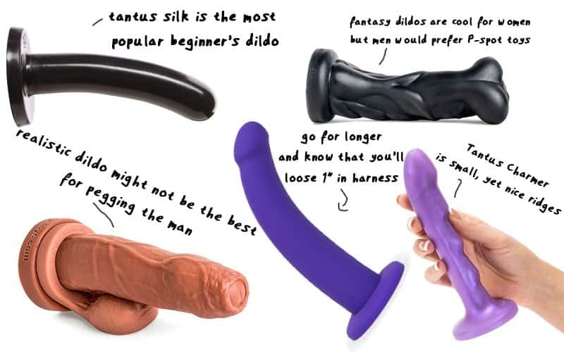 best strap on dildo sizes angles overview