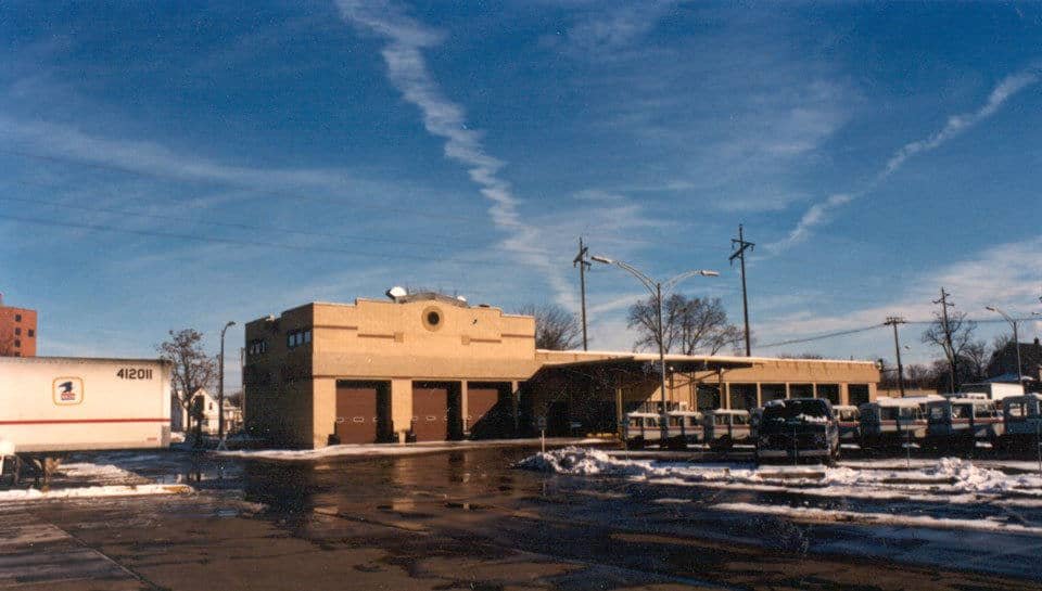USPS facility in Cedar Rapids, Iowa.