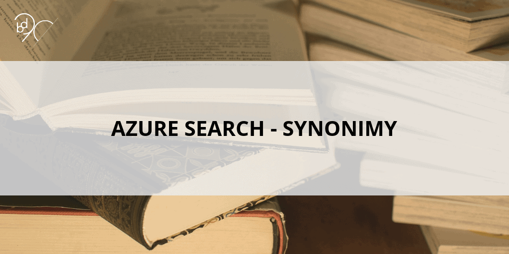 Azure Search – Synonimy