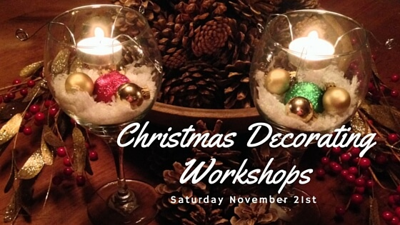 Christmas Decorating Workshops