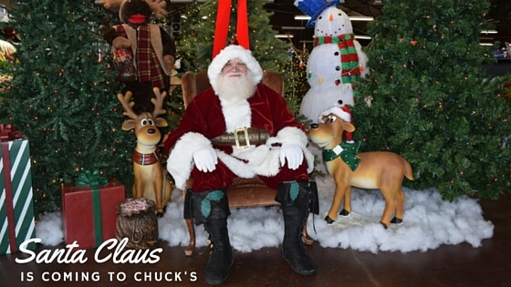 Santa Claus at Chuck Hafner's