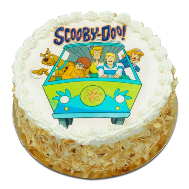 Tort ostrow z opłatkiem Scooby Doo
