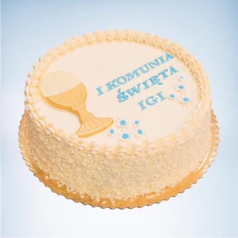 maly tort na komunie