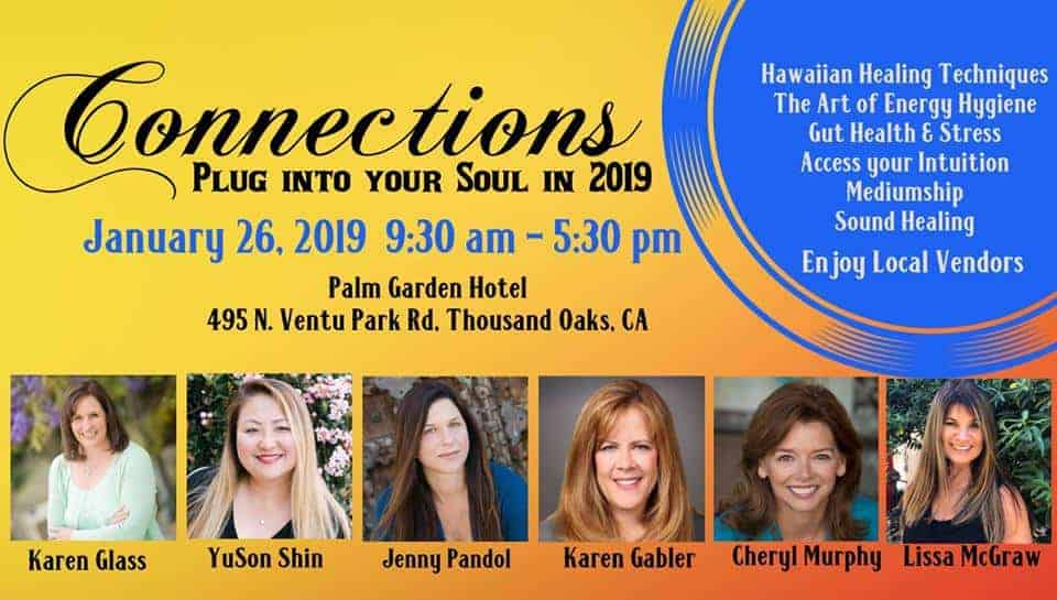 Jan.26, 2019, Connections:Plug Into Your Soul in 2019