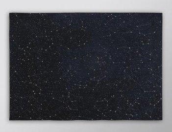 Prêt-à-porter Teppich Celestial Night Sky