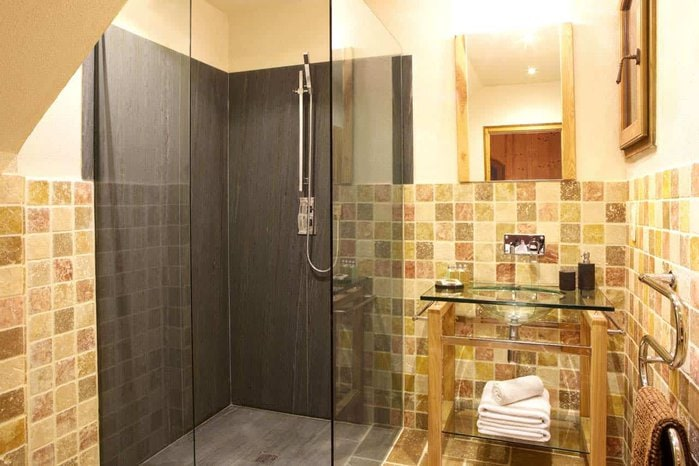 Дизайн ванны с душем