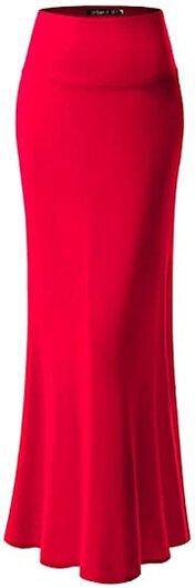 URBAN K maxi skirt | 40plusstyle.com