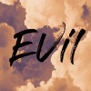 Evil with a cloud bg. The problem of evil.