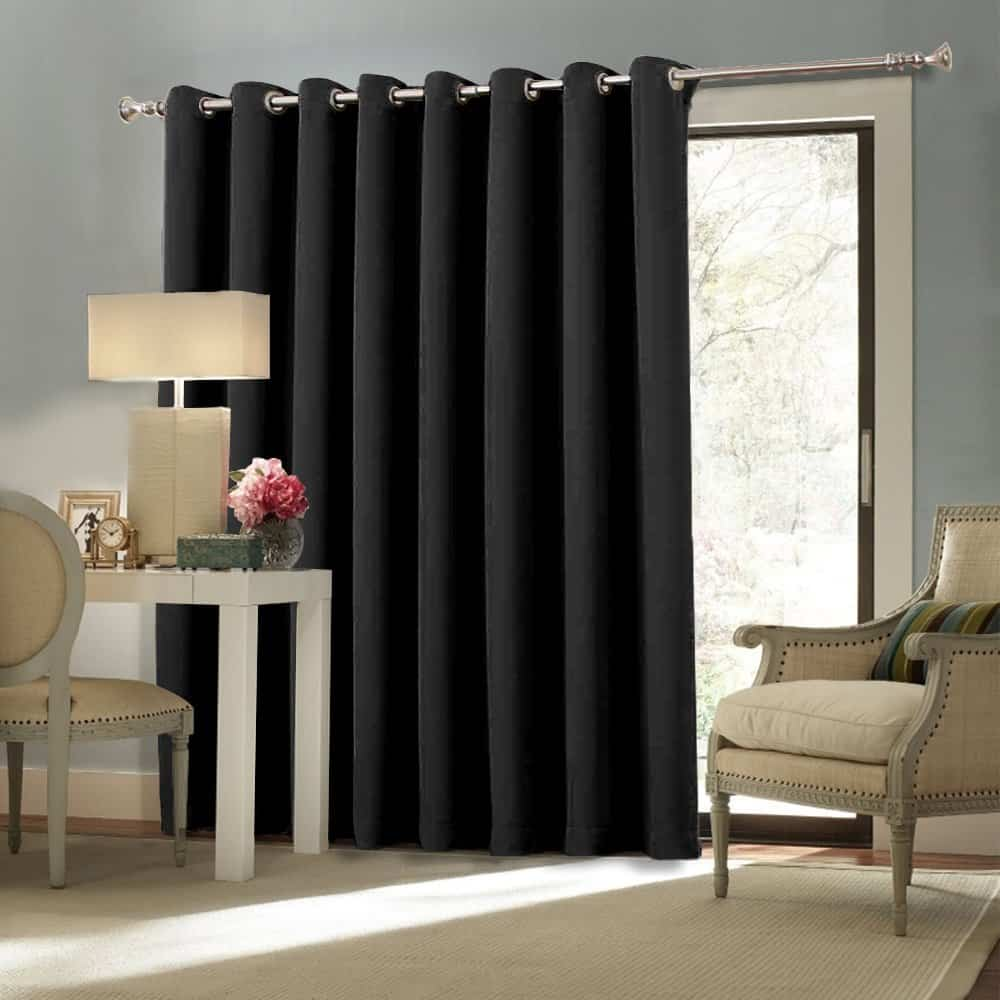 Nicetown Space Solution Extra Large Grommet Top Room Divider Curtain Panel