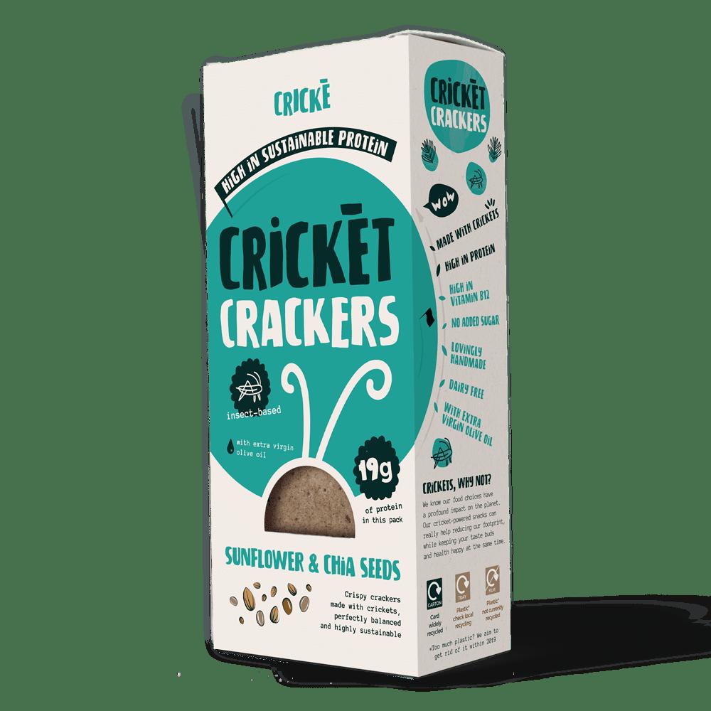 I prodotti di Cricke sono lo snack ideale per provare gli insetti edibili
