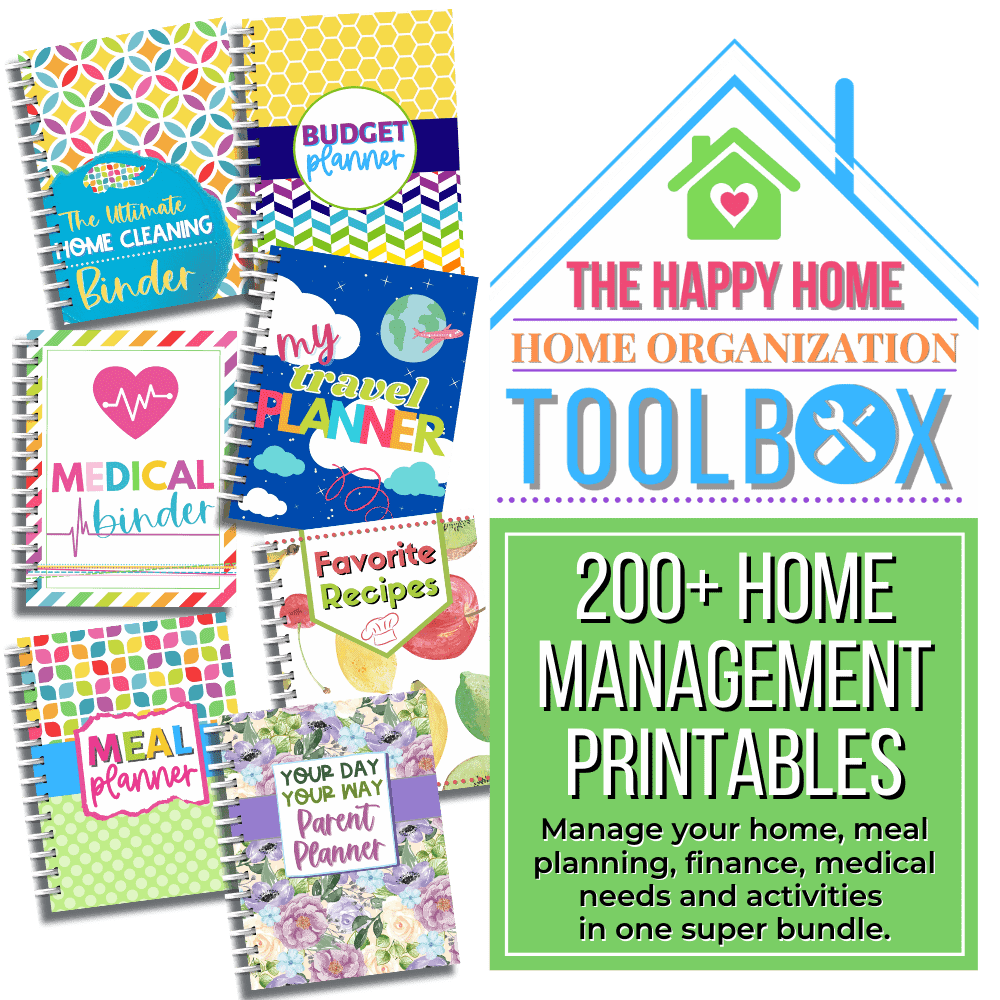Happy Home Home Management Toolbox