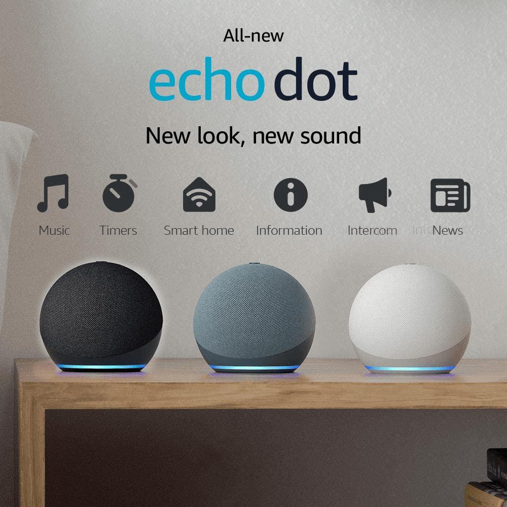 Amazon Echo Dot 4 - Thế hệ loa thông minh mới nhất 2021