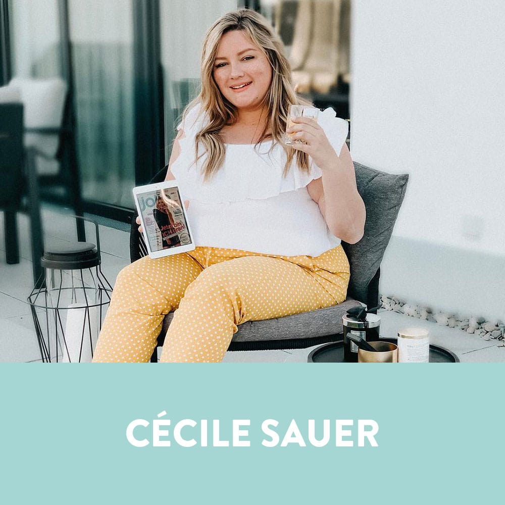 Influencers in Germany - Cécile Sauer