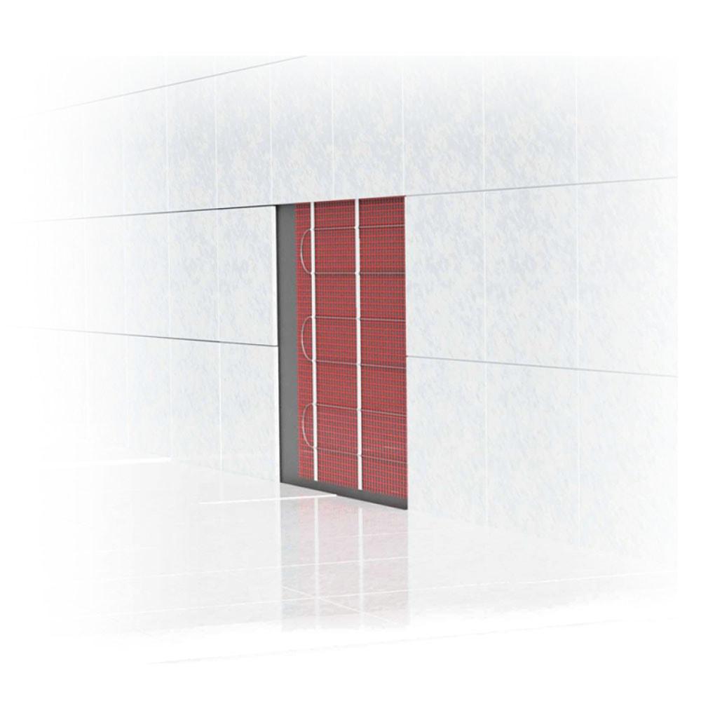 Energiezuinige elektrische wandverwarming