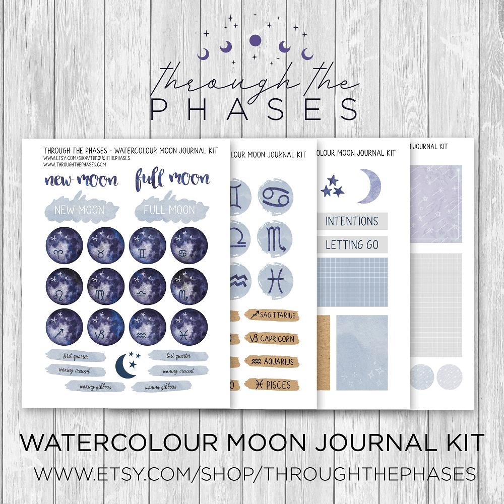 moon journal kit