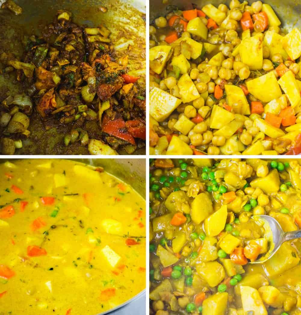 How To Cook Jamaican Spicy Potato Curry (Vegan)