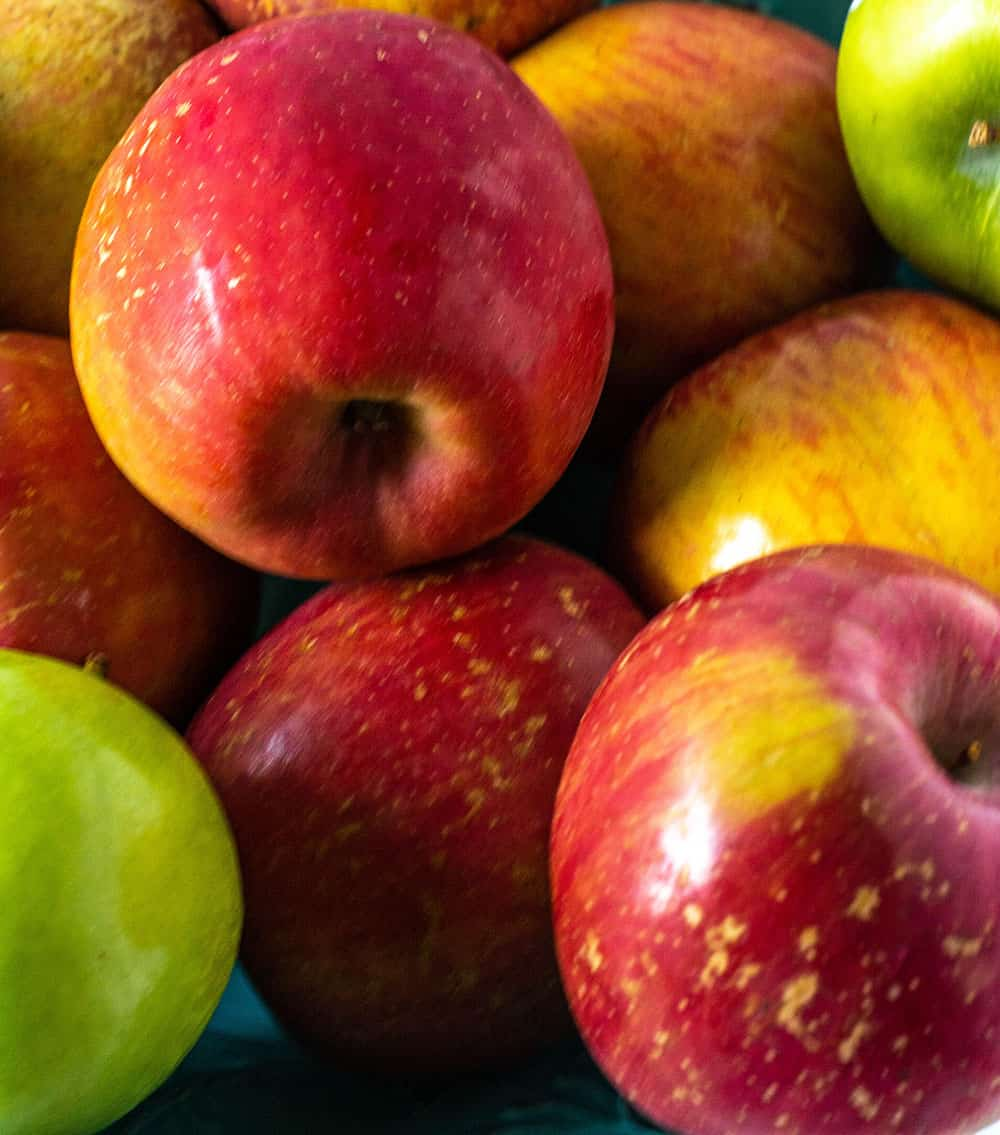 apples for healthy apple muffins