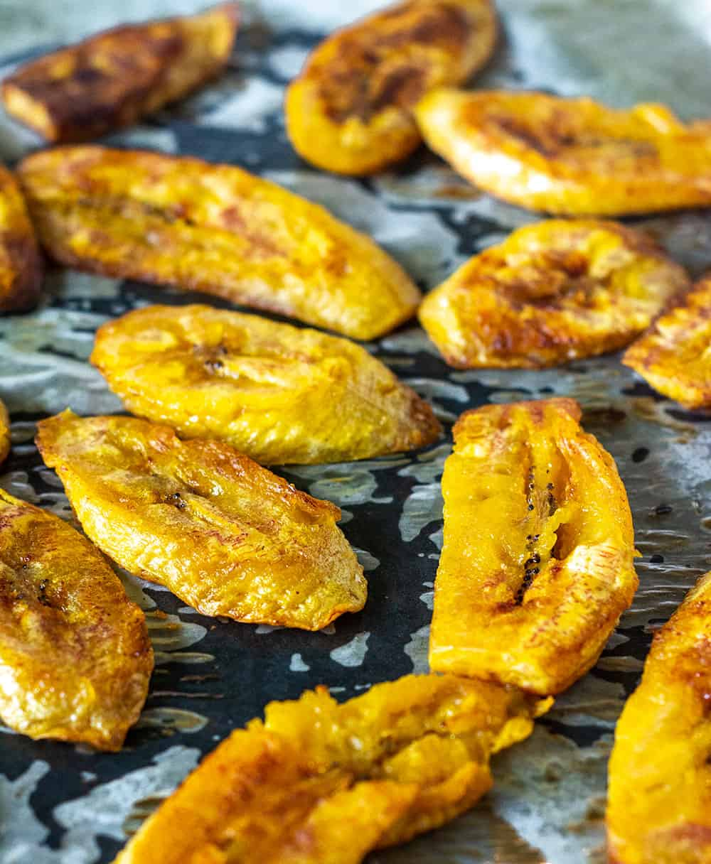 Baked Plantains Healthier Steps