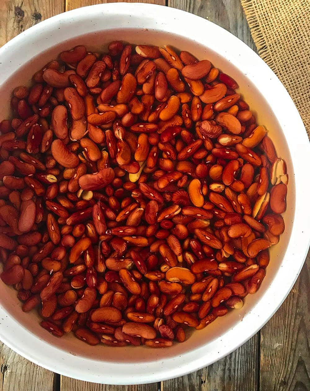 Kidney beans for red beans and rice