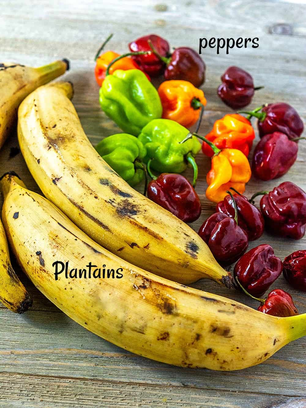 Ripe Plantains for Baked Plantains