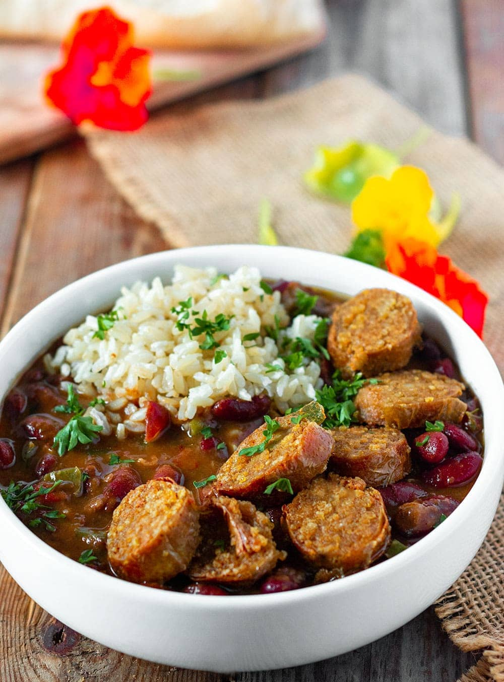 Vegan Red Beans And Rice