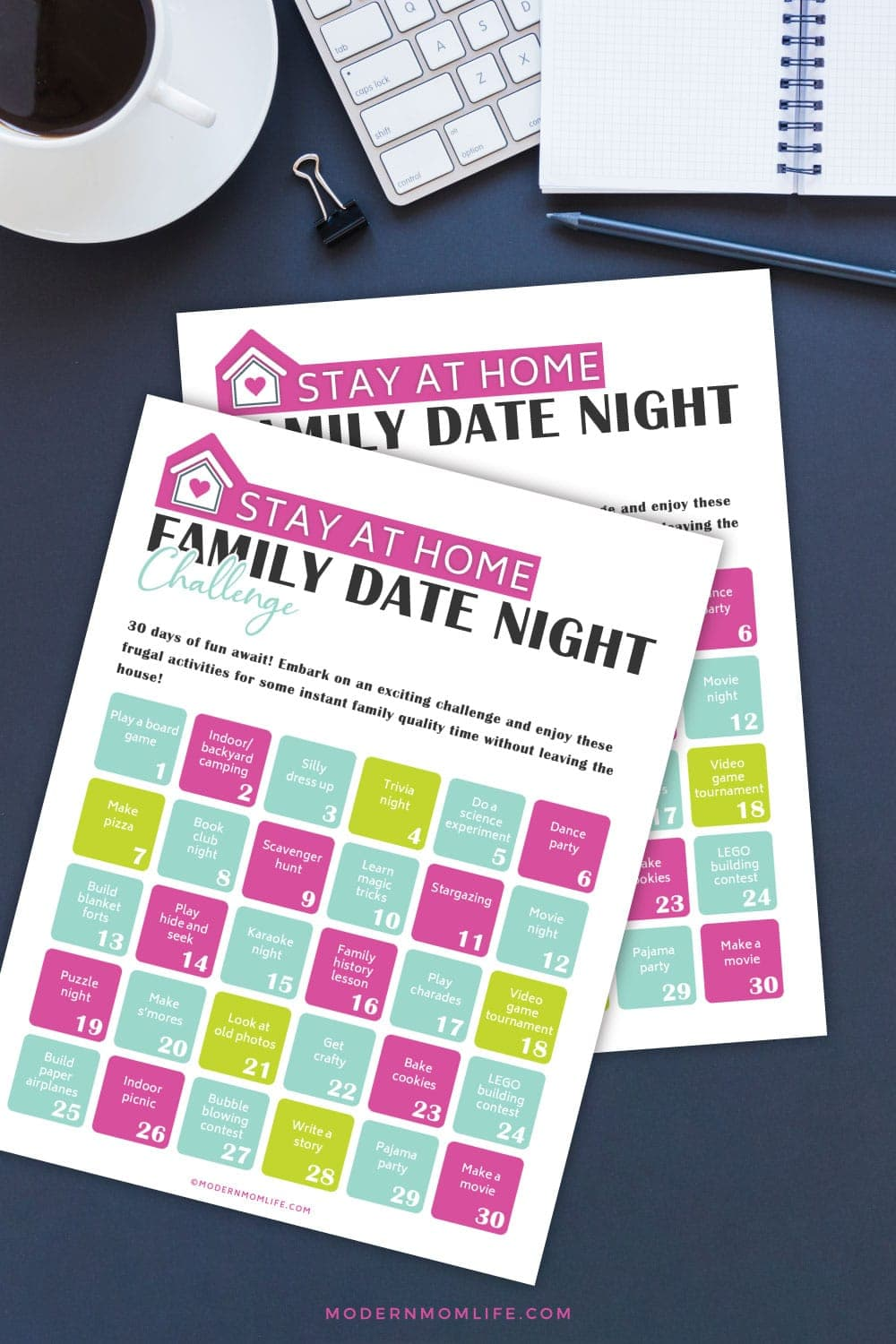 Family Date Night Challenge
