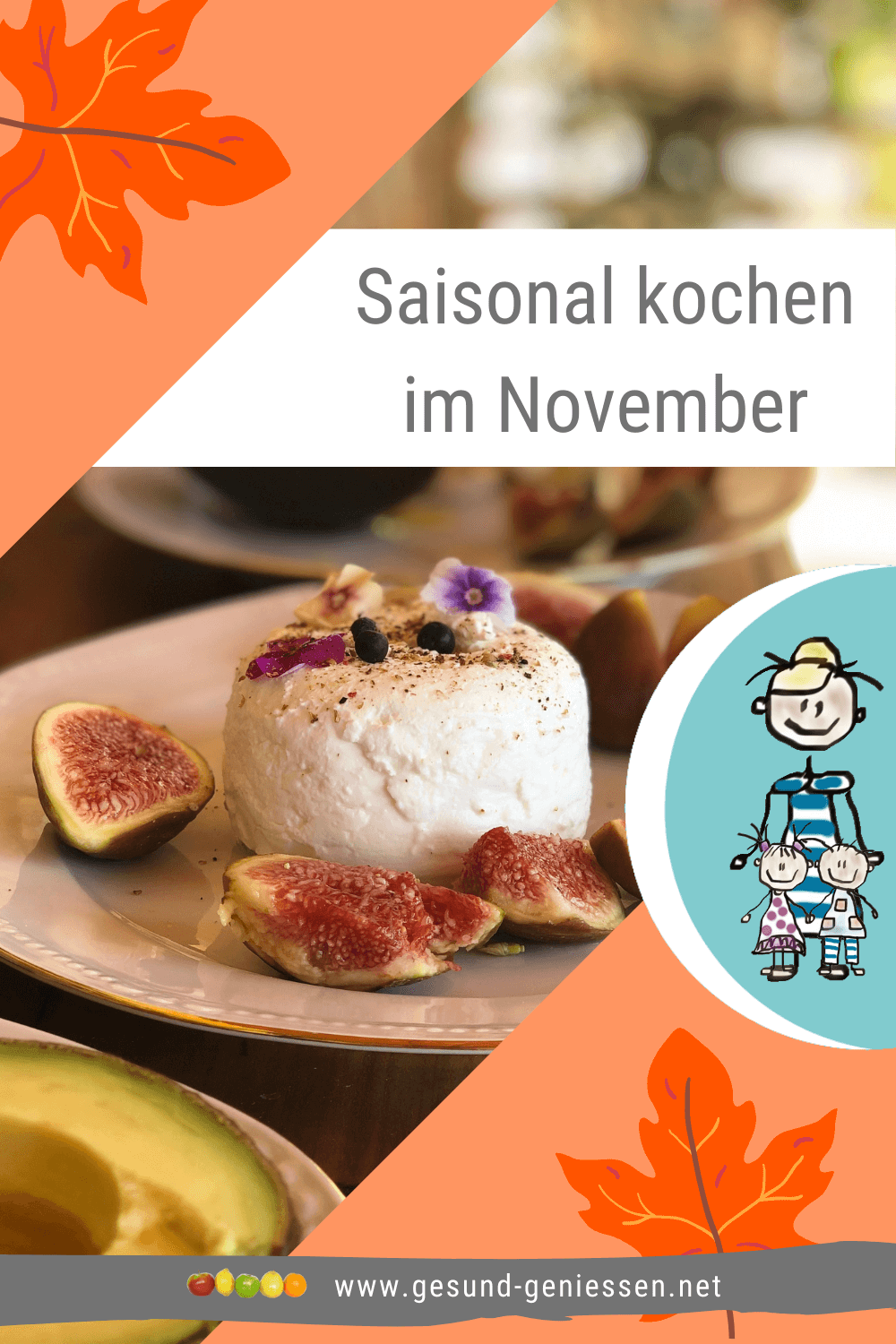 Pin Saisonkalender November