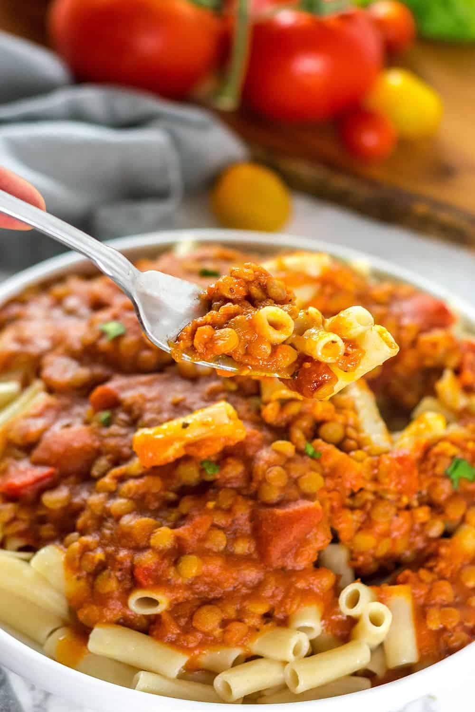 Vegetarian Bolognese Sauce Recipe