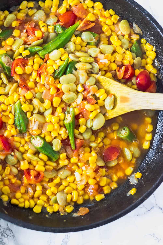 Vegan Southern-Style Succotash