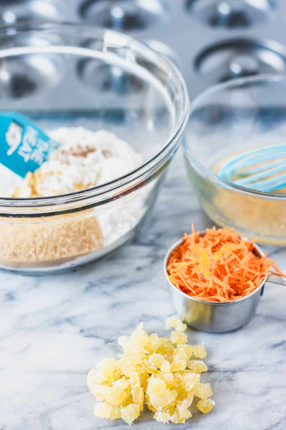 Carrot Cake Donuts Ingredients