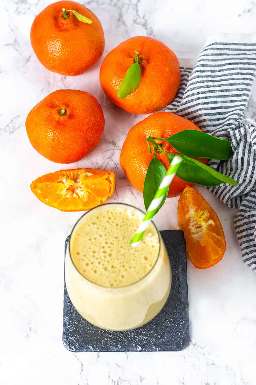 Fresh Orange Creamsicle Smoothie