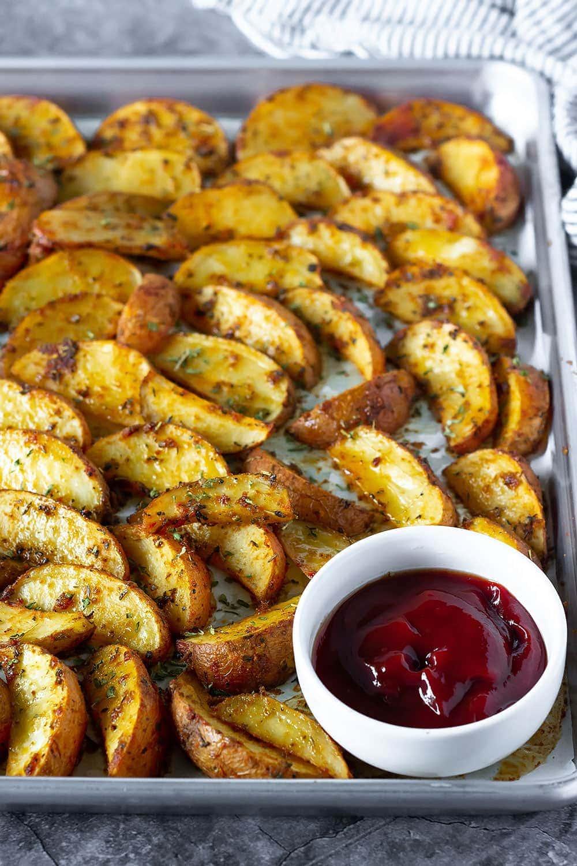 Best cajun oven baked potato wedges