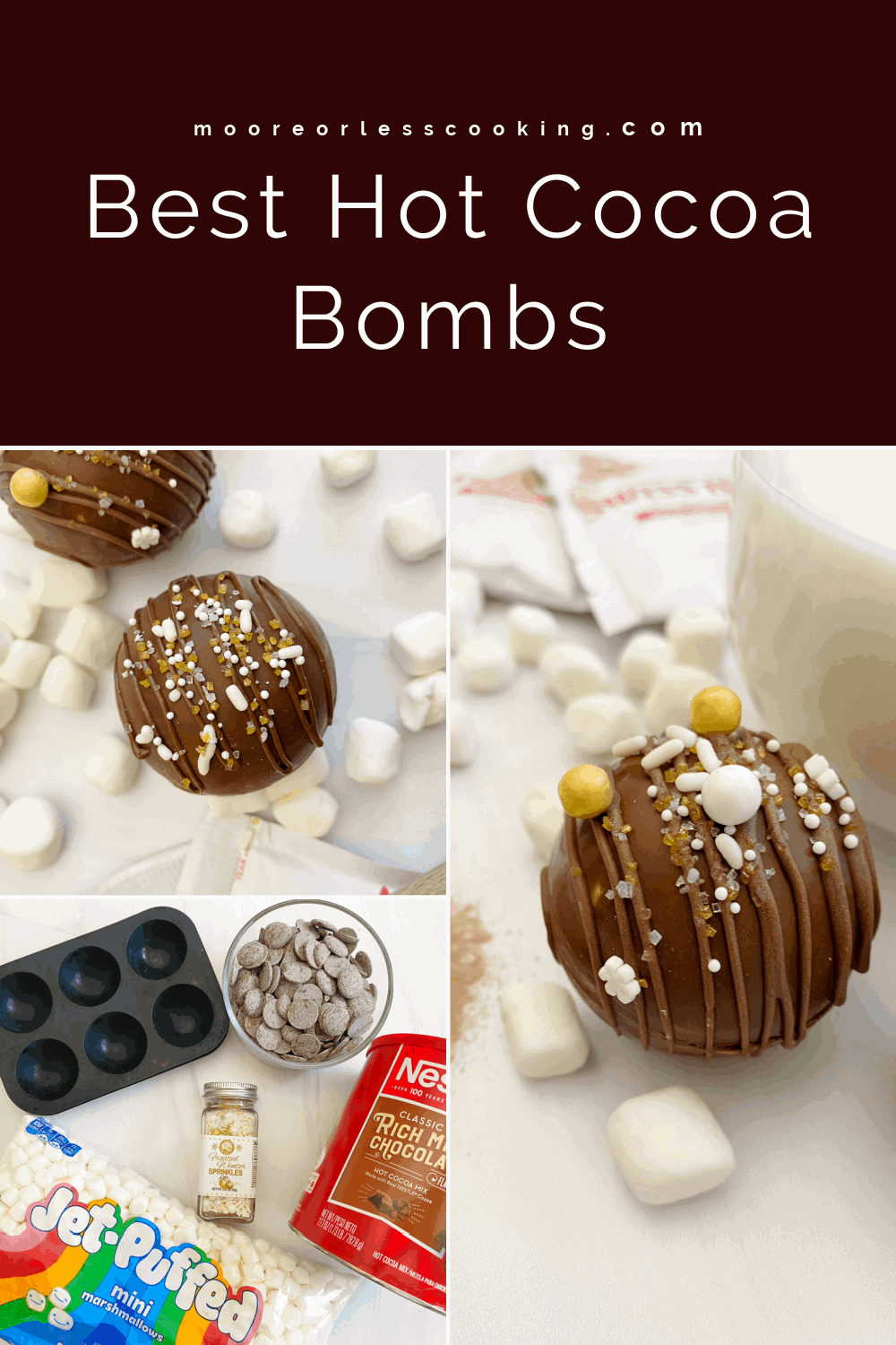 pin hot cocoa bombs 3 images