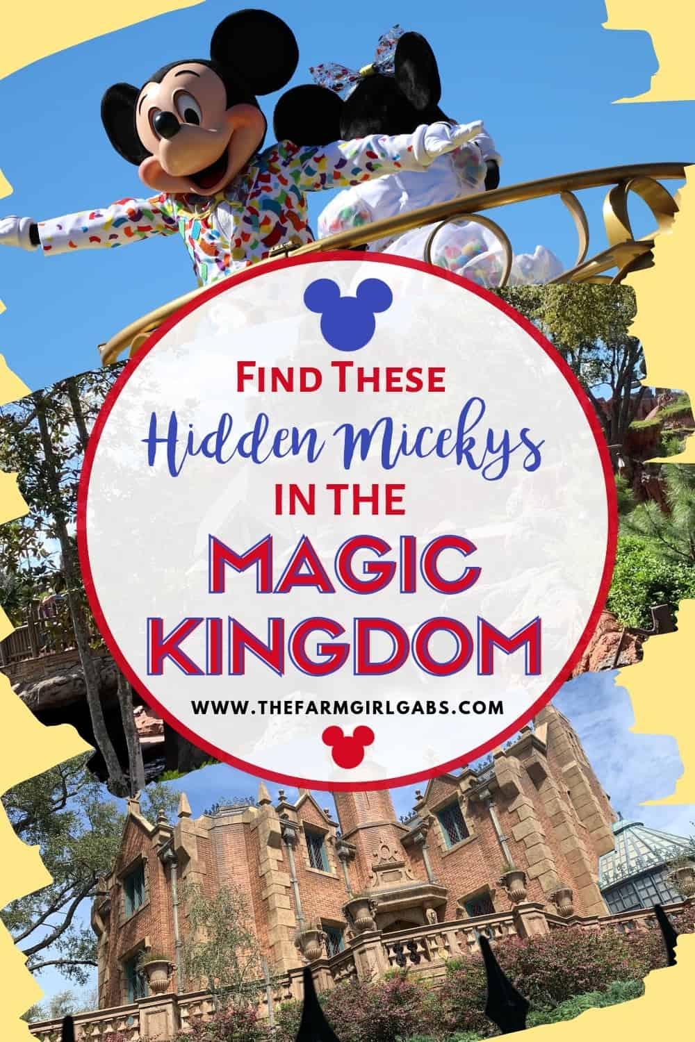 Proportions are important! Here are the best Hidden Mickeys in the Magic Kingdom, not counting the Mickeys naturally occurring in decorative patterns. Can you find them? #hiddenmickeys #magickingdom #Disneytips #Disneypackingtips #Mickeymouse