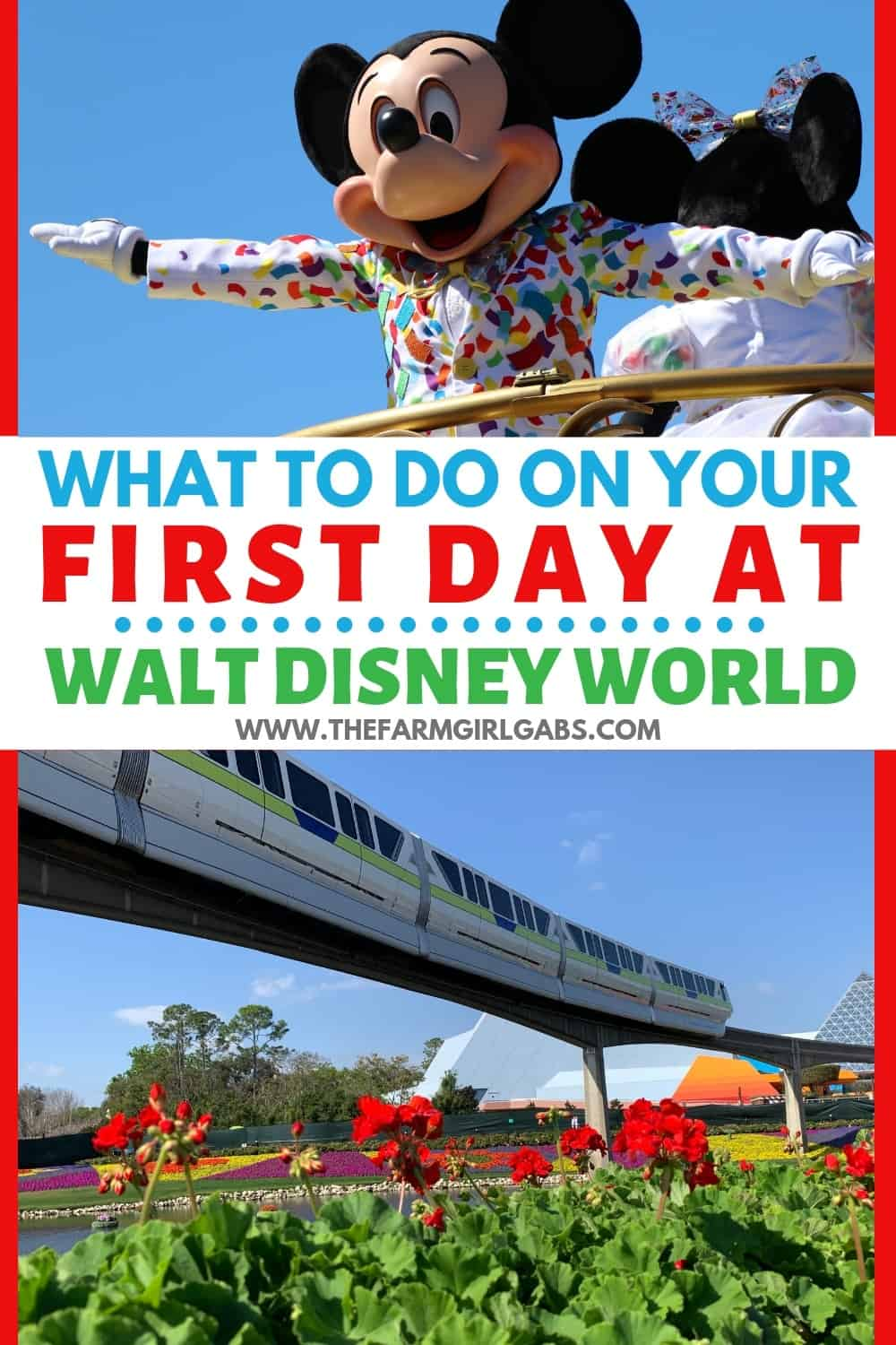 What should you do On your first day at Disney World? Take some time to enjoy these enjoyable and relaxing must-do Walt Disney World experiences.  #disneyworld #disneyplanning #disneytips