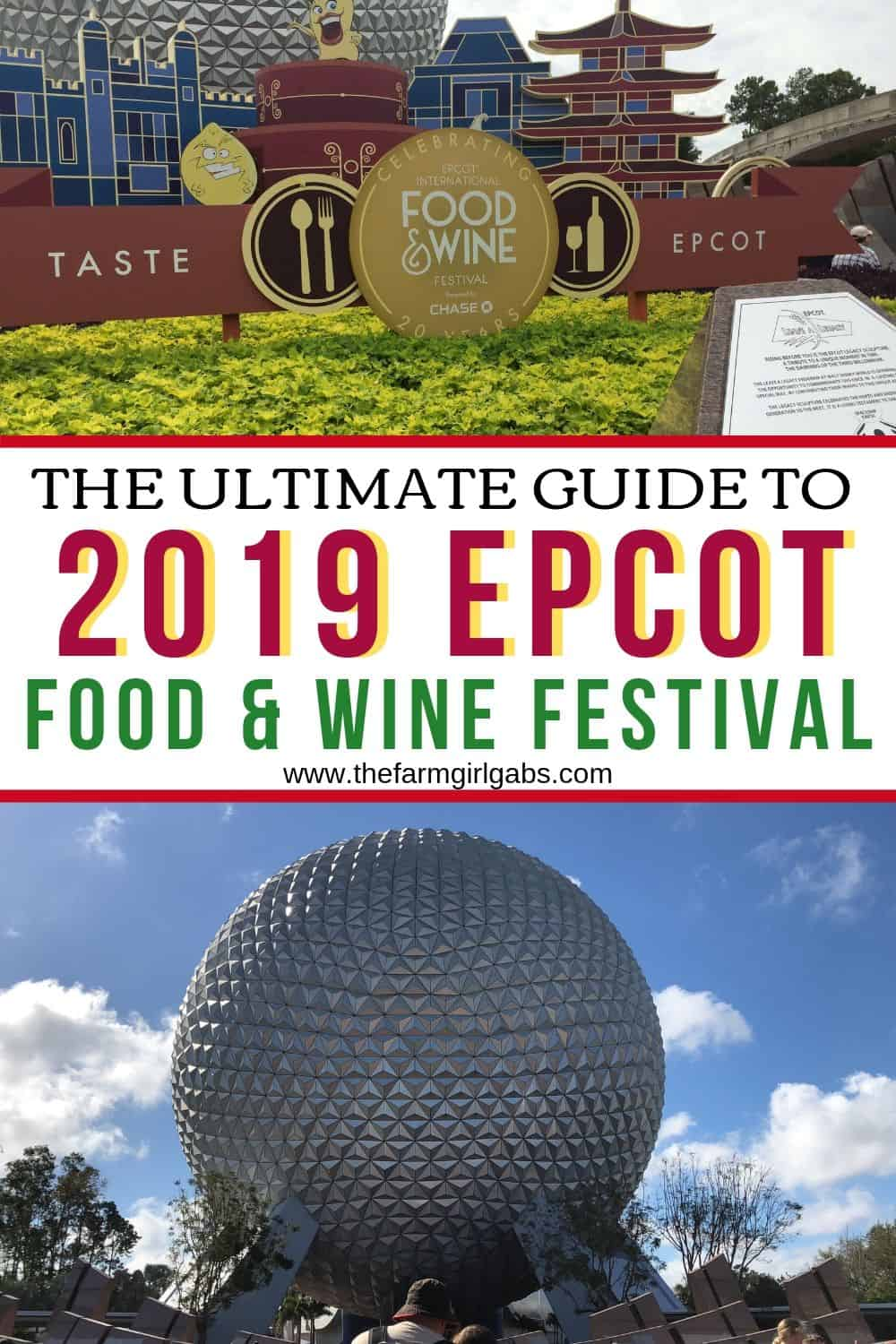 Planning a trip to Epcot's Food and Wine Festival this year? Here are a few top Tips For Visiting The Epcot Food And Wine Festival at Walt Disney World. This ultimate guide to the 2019 Epcot Food And Wine Festival will give you all the festival details and helpful Disney tips. #WaltDisneyWorld #Epcot #EpcotFoodAndWineFestival #Disney #DisneySide #DisneyTravel #TravelTips #EpcotFlowerAndGardenFestival