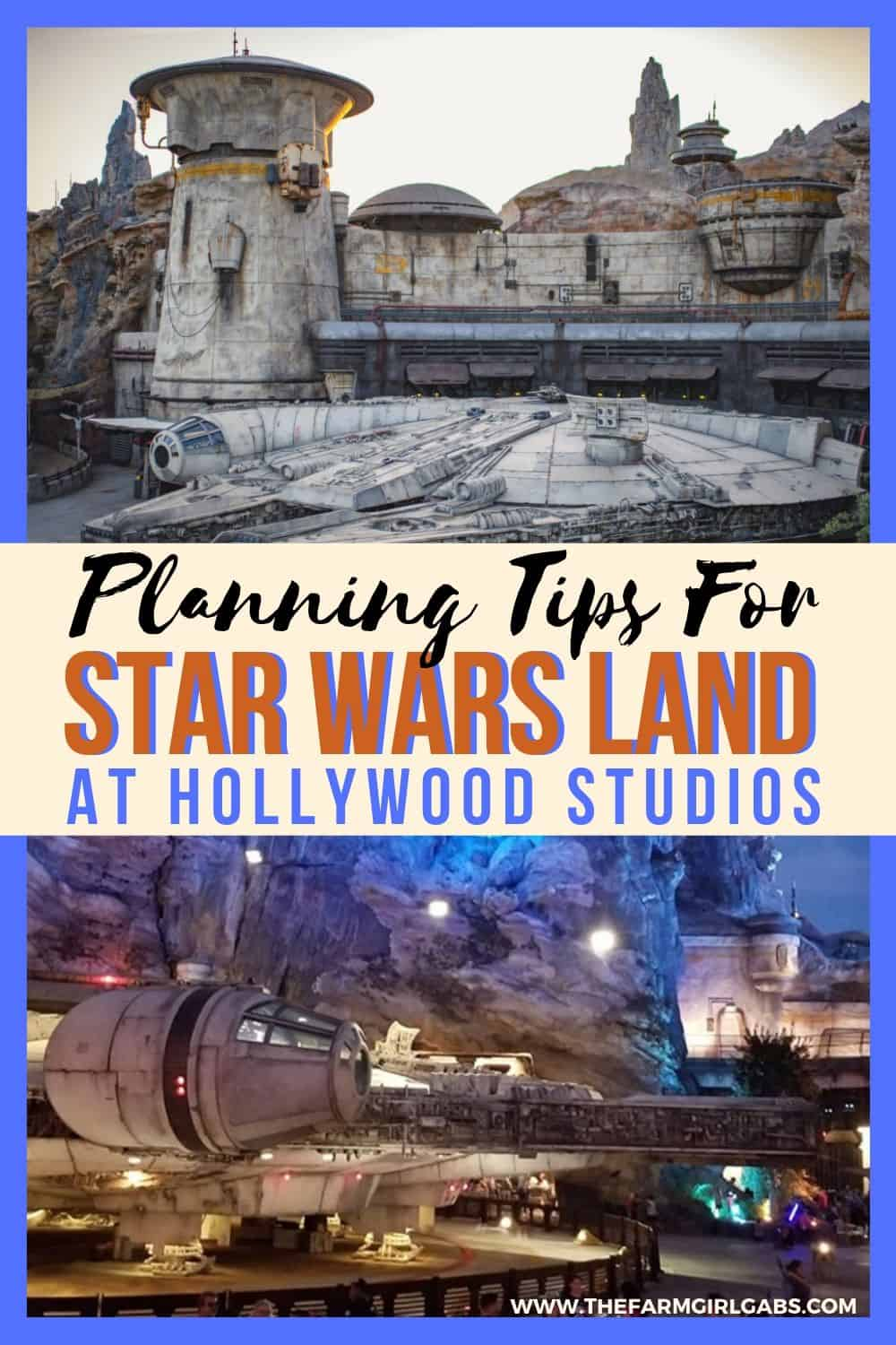 Punch it Chewie! Before you get into Disney vacation mode, here is some information about Galaxy's Edge to help in your Star Wars land at Hollywood Studios planning. These Disney tips will make your Disney vacation extra magical. #starwarsland #disneyworld #disneytips #galaxysedge