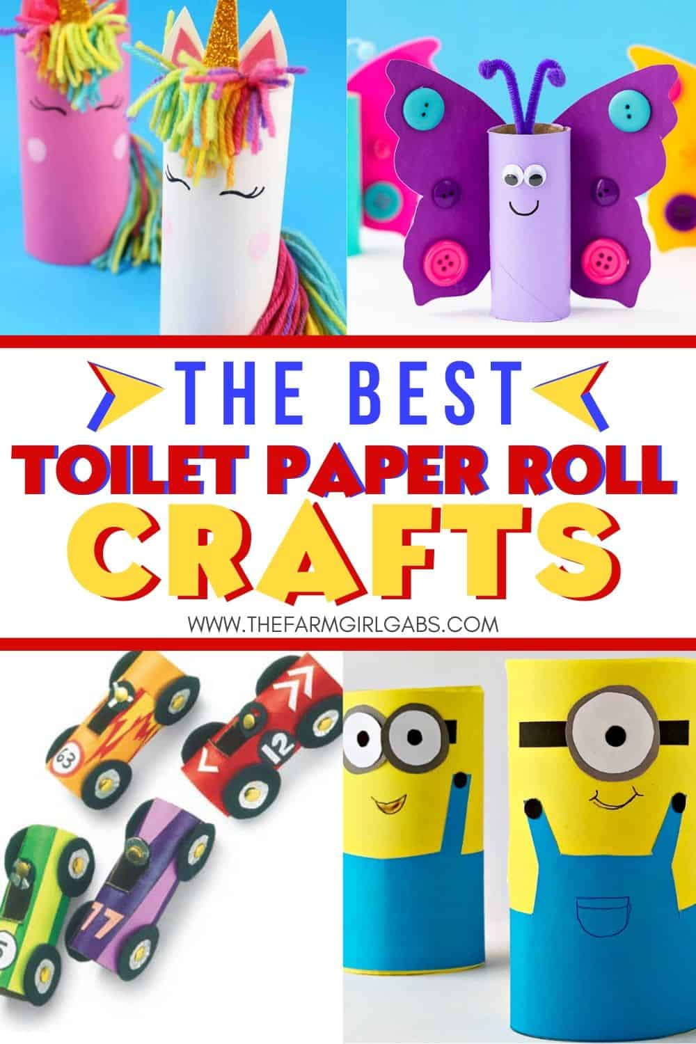 Did you stock up on toilet paper because of the coronavirus? These Easy Toilet Paper Roll Crafts for kids are a great way to recycle the toilet paper rolls.