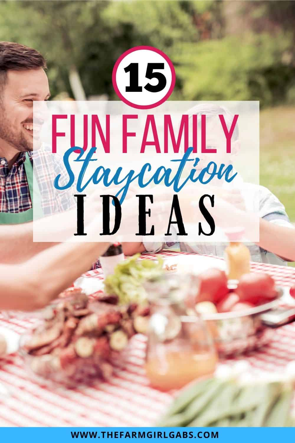 Keep it simple and save money with these 15 fun Staycation Ideas. Planning a family vacation doesn't have to be expensive. Check out these staycation ideas.