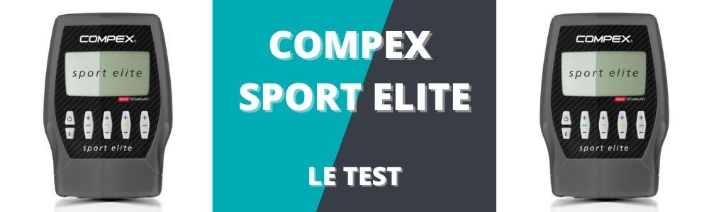 bannière du test du compex sport elite