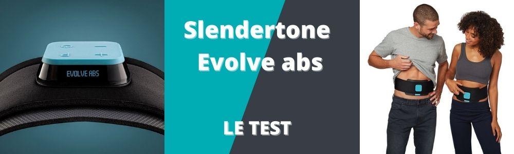 bannière pour le test de la ceinture abdominale slendertone evolve abs