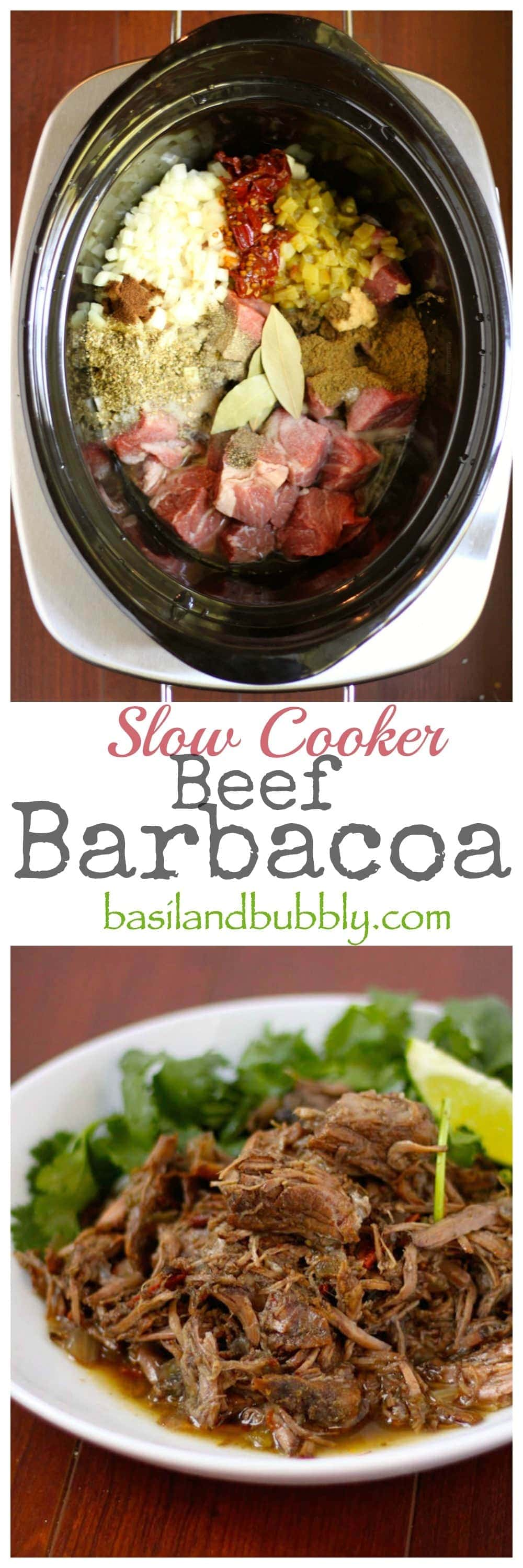 Crock Pot Beef Barbacoa
