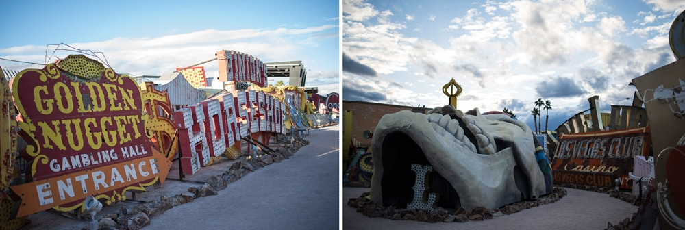 Neon Museum Graveyard in Las Vegas