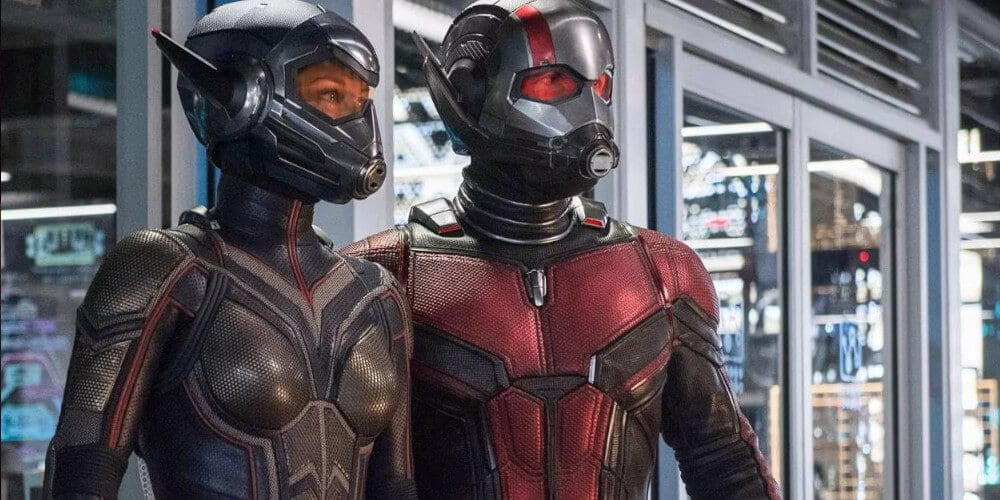 Paul Rudd & Evangeline Lily in Ant-Man And The Wasp