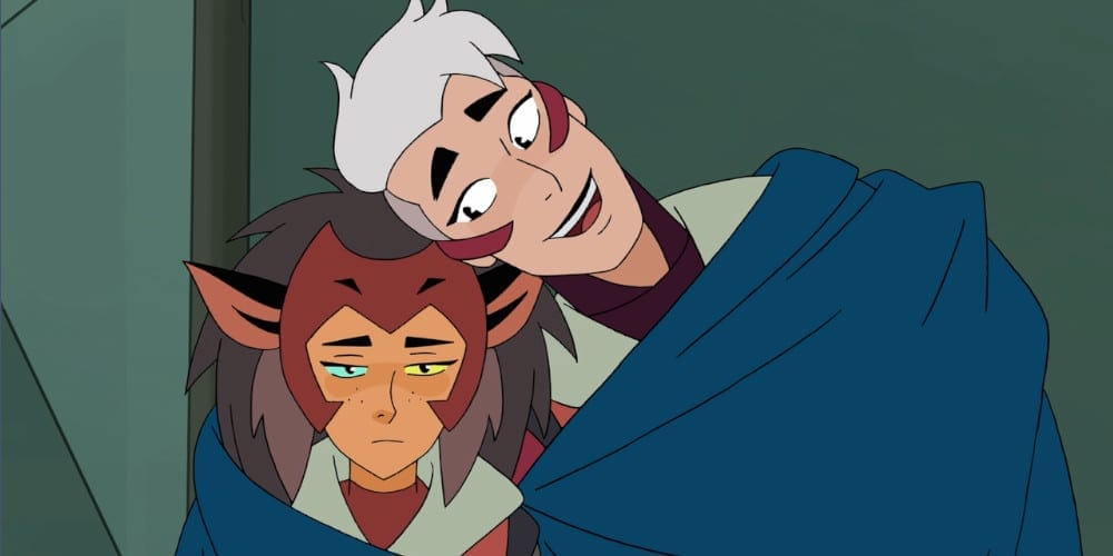 Catra And Scorpia from She-Ra