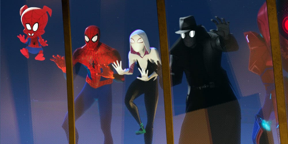 Spider-Man: Into The Spider-Verse group