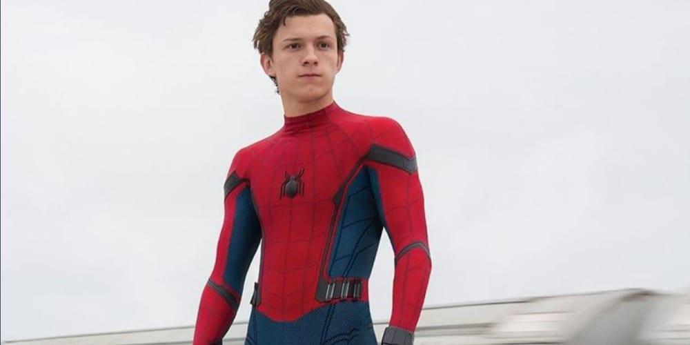 Tom Holland as the MCU Spider-Man