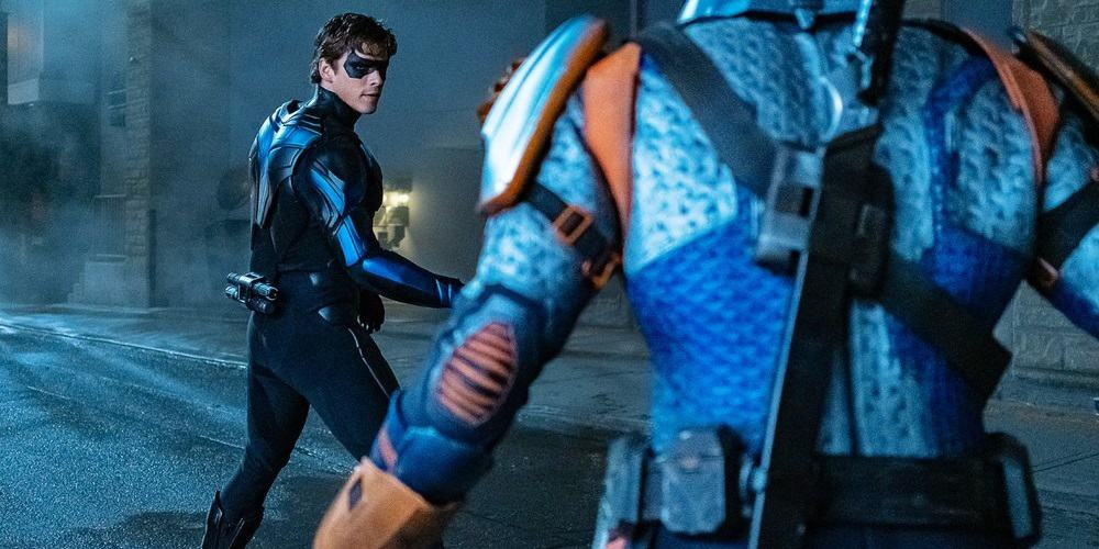 Titans season 2 finale Nightwing v Deathstroke Dawn of the Obvious
